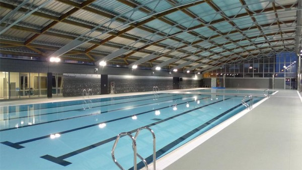 reforma de piscina cubierta catarroja daia arquitectes ForPiscina Cubierta Catarroja